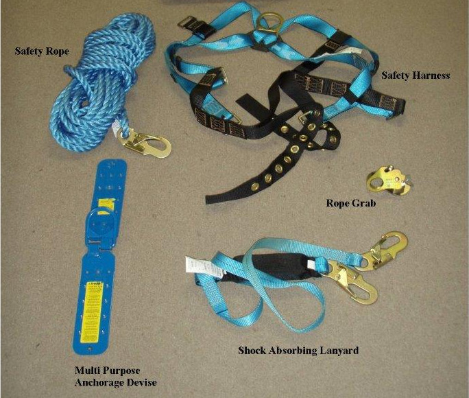 Personal Fall Arrest Kit